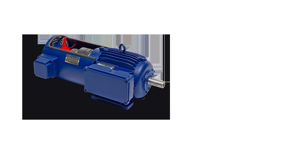 Drehstrom-Normmotoren in Sonderausführung